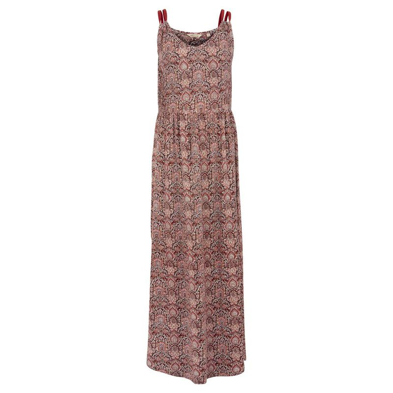 Fat Face Womens Lily Indian Summer Maxi Dress (Rustic Red