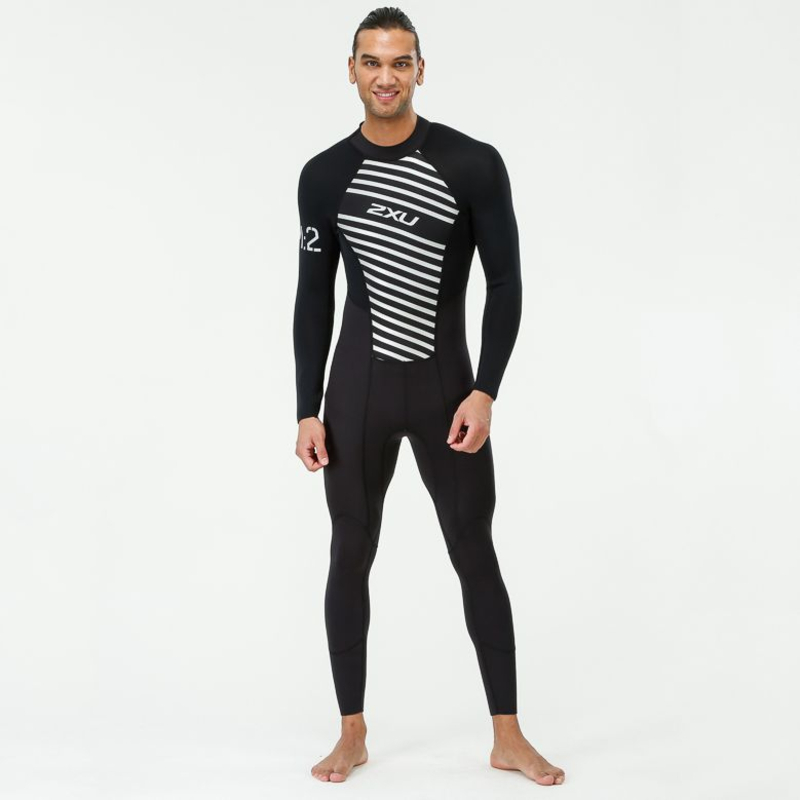 94b523e11 2XU Mens M:2 Wetsuit (Black/Striped) | Sportpursuit.com