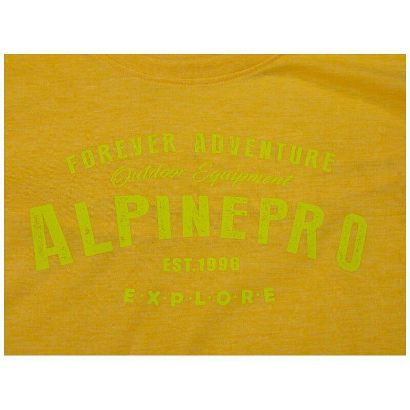 Alpine Pro Mens Dod Short Sleeve Top (Lemon Chrome
