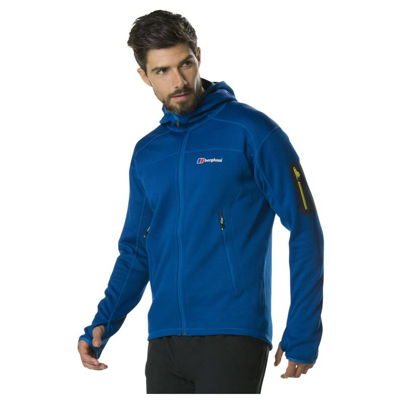 Berghaus Mens Pravitale Mountain 2.0 Hooded Fleece Jacket ...