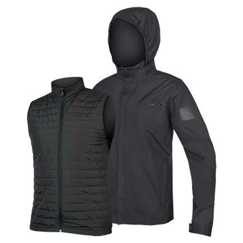 Endura Mens Urban 3 in 1 Waterproof Jacket (Anthracite