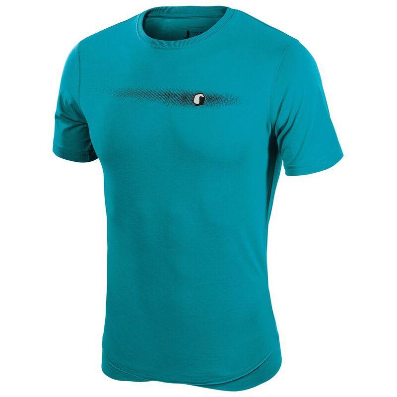 46a29c58 Ferrino Mens Target T-Shirt (Coral Blue) | Sportpursuit.com
