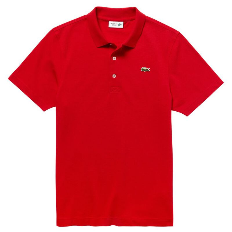 178b79b8d7b Lacoste Mens Tennis Polo Shirt (Red)