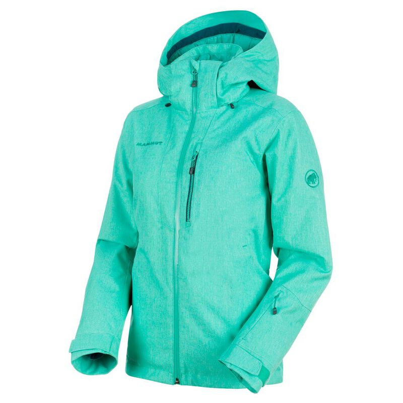 search for official limited price online Mammut Womens Stoney Hardshell Thermo Jacket (Atoll ...