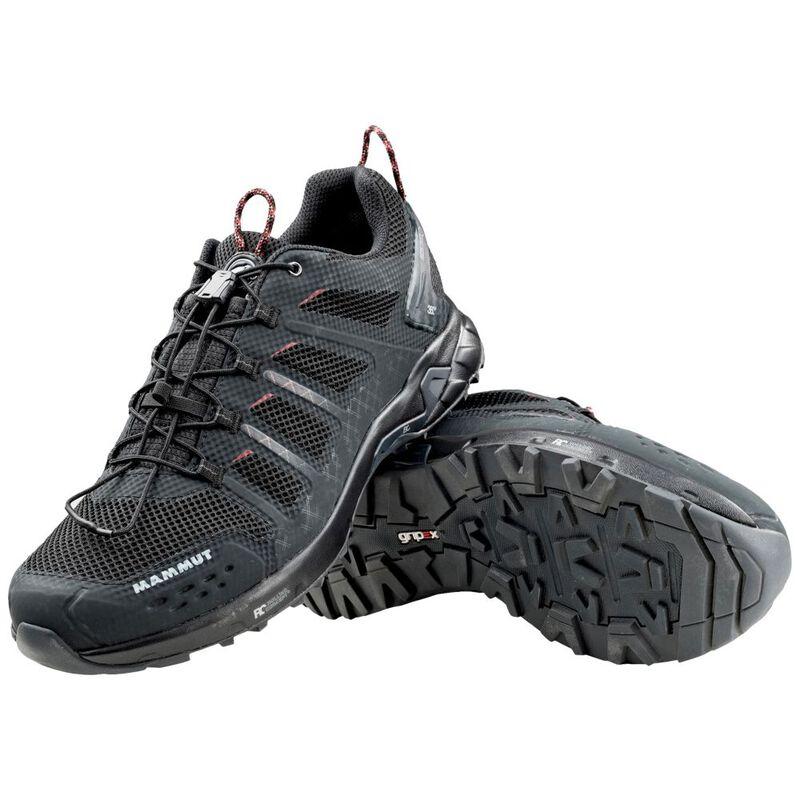59b492233d23e9 Mammut Mens T Aenergy Low GTX Shoes (Black Dark Lava)