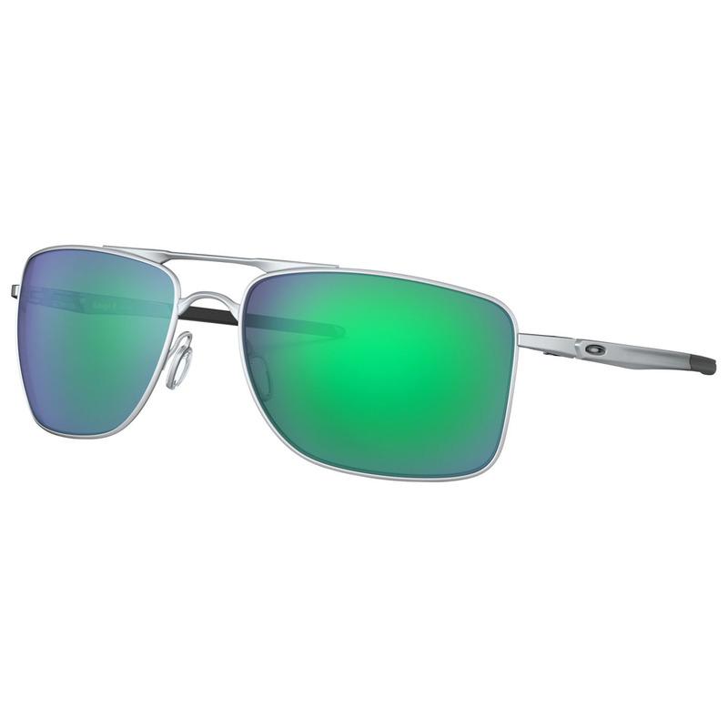 fa3192604e Oakley Mens Gauge 8 Sunglasses (Silver Blue)