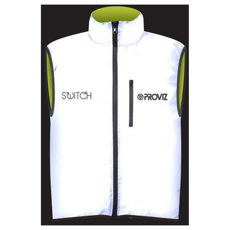the best attitude c7f31 6e7b3 Proviz Womens Switch Cycling Gilet (Silver/Yellow ...