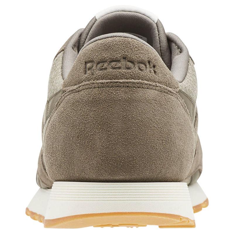 20dfa2597228c7 Reebok Mens Classic Nylon M Shoes (Wthr-Terrain Grey Chalk)