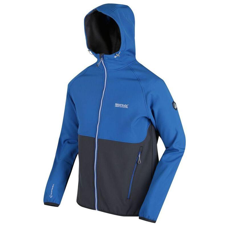Regatta Mens Arec II Softshell Jacket (Oxford BlueSeal Grey