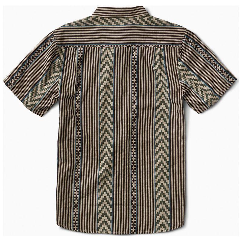 3dd63e0d Roark Mens La Parilla Short Sleeve Shirt (Stone) | Sportpursuit.com