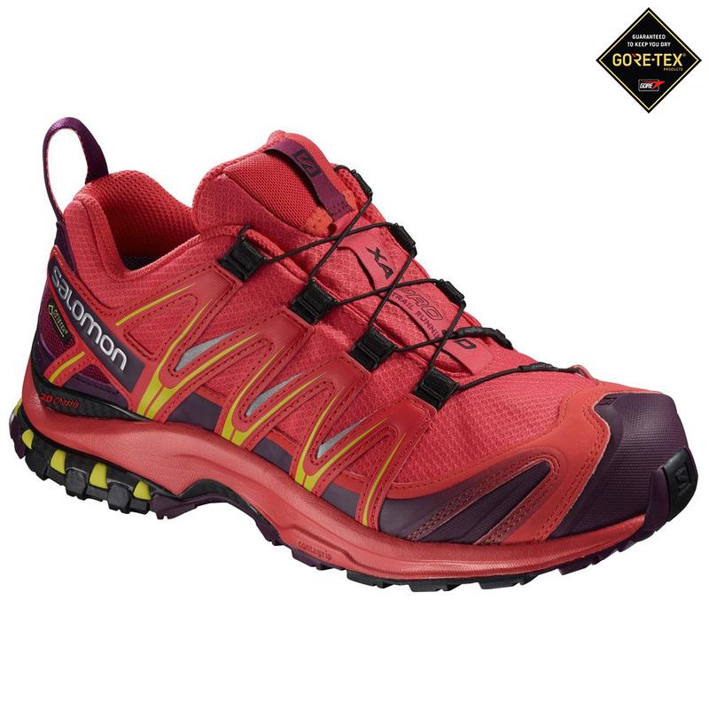 f778880f Salomon Womens XA Pro 3D GTX Shoes (AW18 - Hibiscus/Potent ...