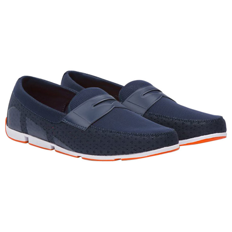 23687c9933b Swims Mens Breeze Penny Loafers (Navy)