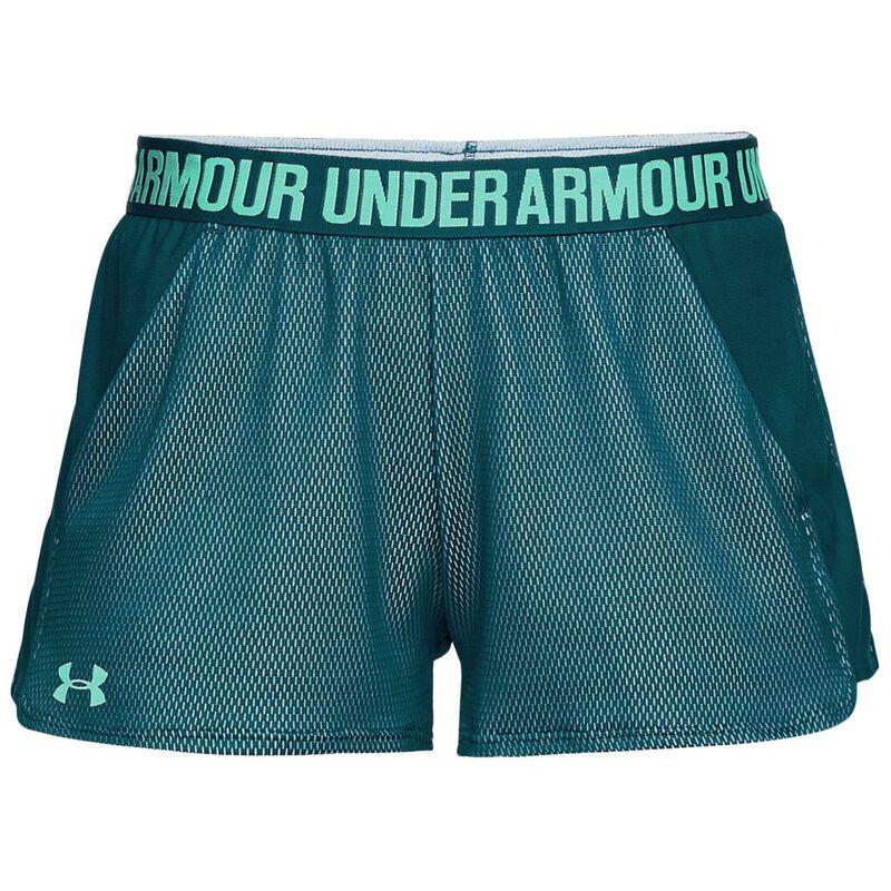 3dda8285 Under Armour Womens Play Up 2.0 Novelty Shorts (Tourmaline Teal ...