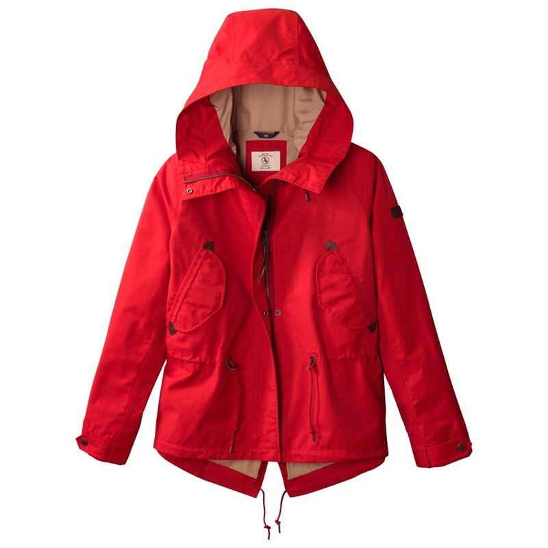 brand new f5761 a9951 Aigle Womens Retrostar Waterproof Jacket (Sumac ...
