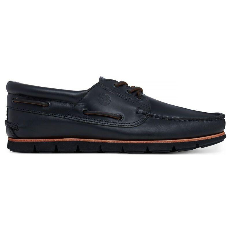 faf50e43e9 Timberland Mens 3 Eye Boat Shoes (Black)   Sportpursuit.com
