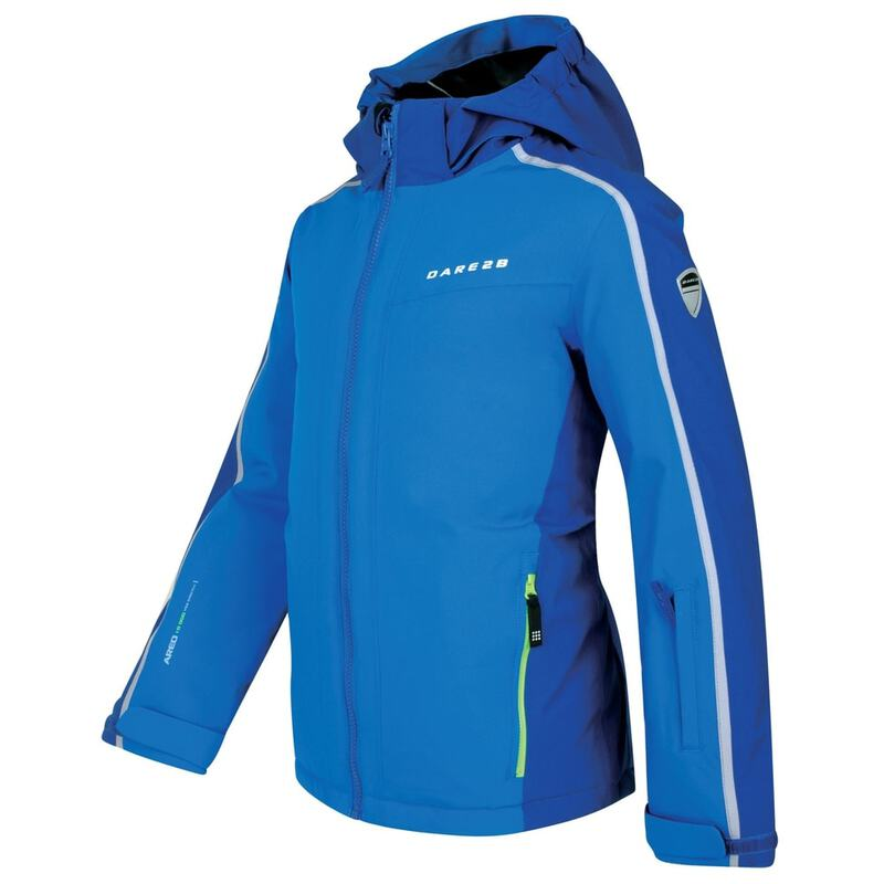 e00c483f9 Dare2B Kids Beguile Waterproof Ski Jacket (Oxford Blue Laser Blue)