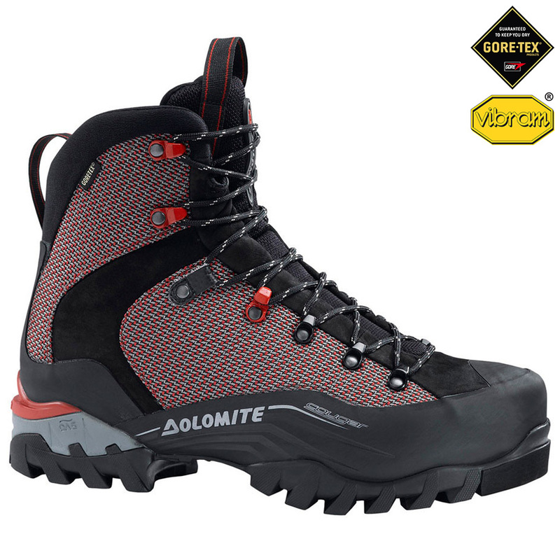 db579d9160f Dolomite Cougar GTX Hiking Boots (Black/Red) | Sportpursuit.com