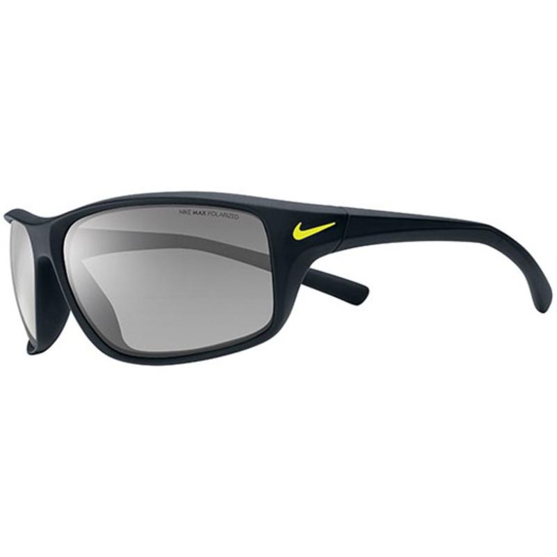 165ce70fcb8 Nike Adrenaline Sunglasses (Matte Black - Grey Max Polarized Lens)