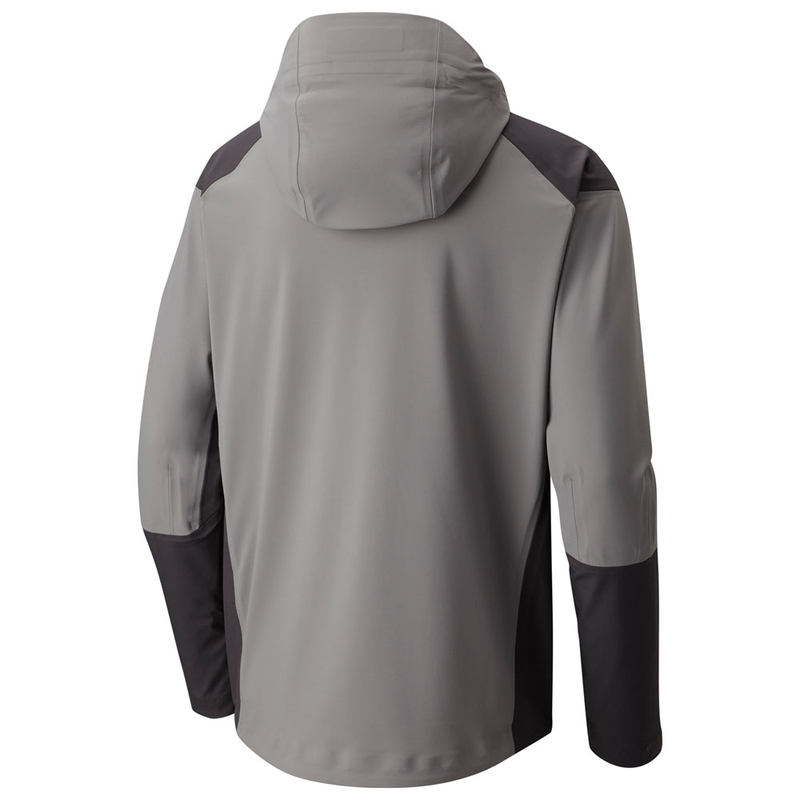 87180e28290e Mountain Hardwear Mens Cyclone Jacket (Manta Grey)