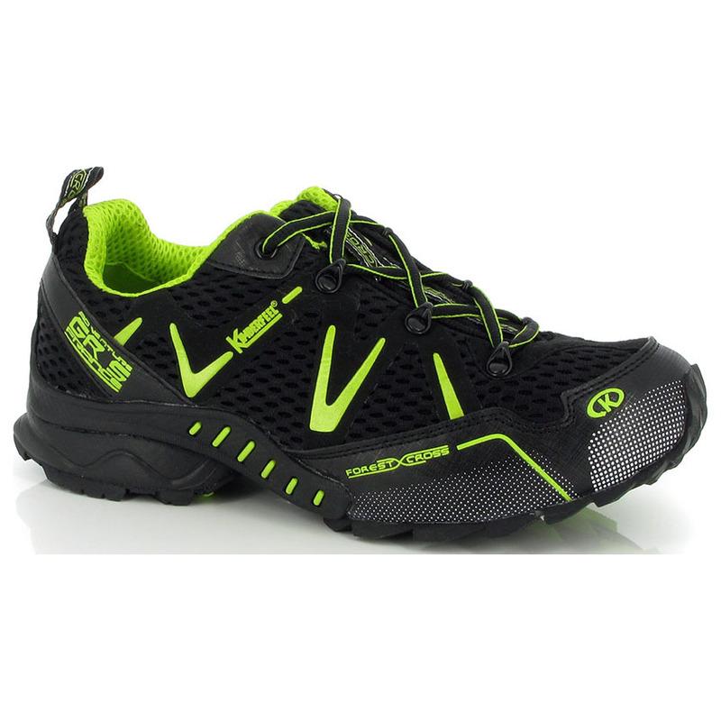 new arrival 4ba0c bf209 Kimberfeel Mens Race Waterproof Trail Running Shoes (Black)