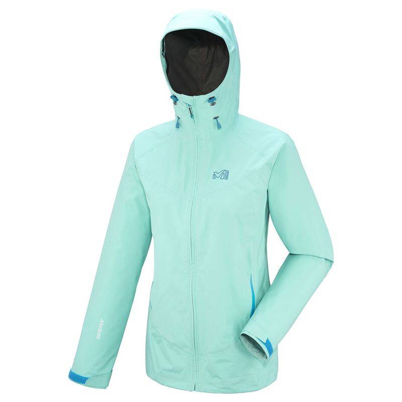hot sales 698e7 f679b Millet Womens Grays Peak GTX Jacket (Pool Blue ...