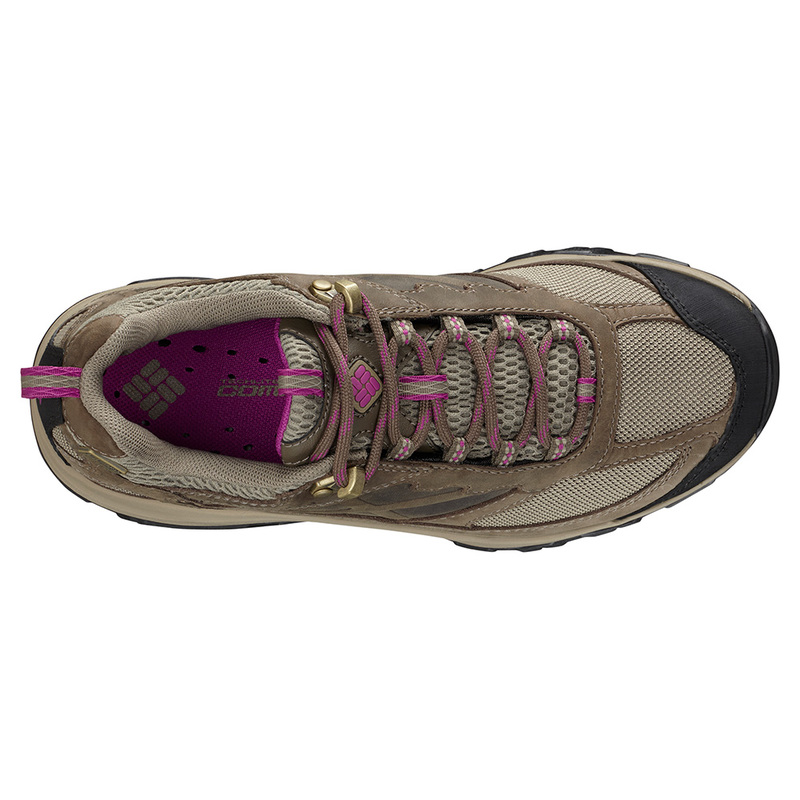 Columbia Womens Terrebonne OutDry Shoes (PebbleIntense