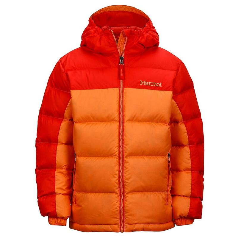 70ecd119a42c Marmot Girls Guides Down Hooded Jacket (Nectarine Scarlet Red ...