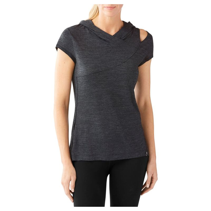 8c290f5c Smartwool Womens Everyday Exploration Hooded T-Shirt (Charcoal) | Spor