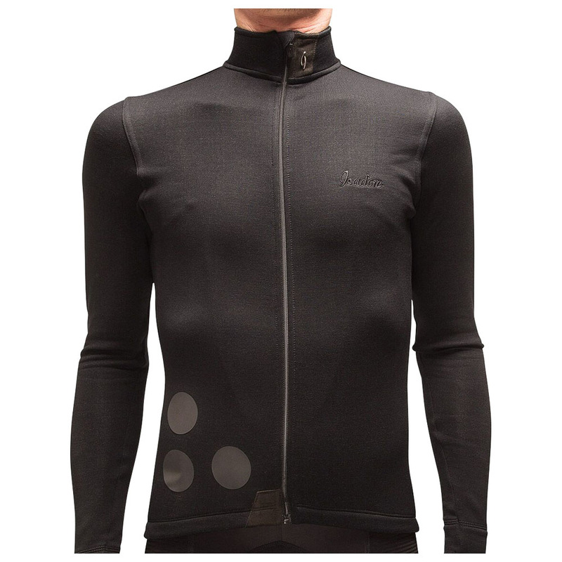 3c1d237ab Isadore Mens Thermerino Jersey (Anthracite Black)