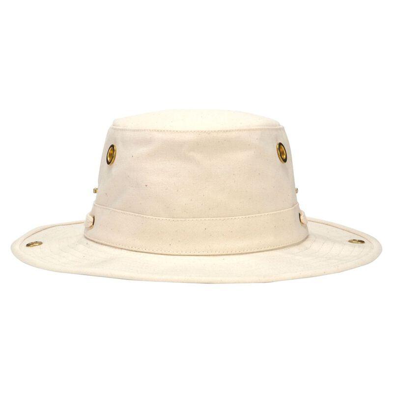 ae7ddf4d Tilley T3 Cotton Duck Hat (Natural/Green) | Sportpursuit.com
