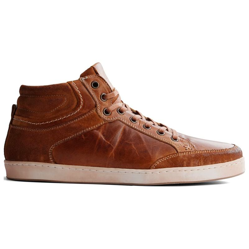 a579f36aa5dd8a Travelin Mens Leicester Leather Shoes (Cognac)