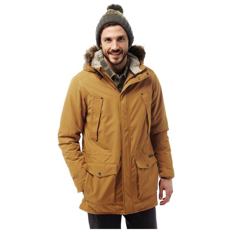 57c6fa41cce Craghoppers Mens Argyle Parka Jacket (Spiced Copper)   Sportpursuit.co