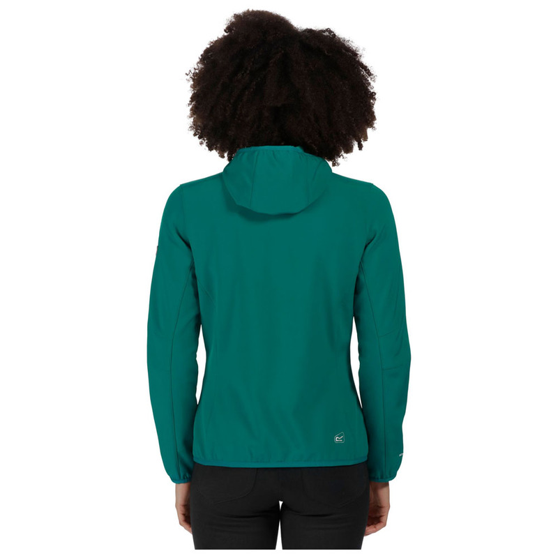 b692f8d46 Regatta Womens Arec Softshell Jacket (Deep Lake/Atlantis)   Sportpursu