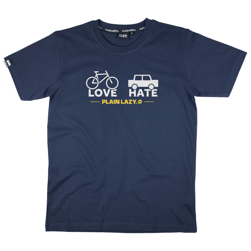 Plain Lazy Mens Love Hate T-Shirt