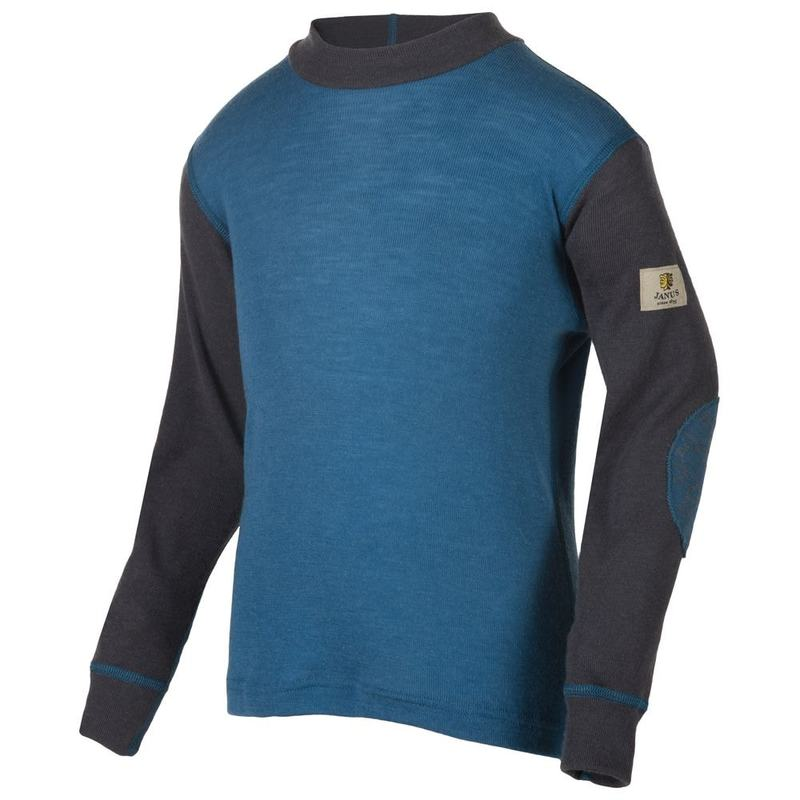 47c971c3 Janus Kids Designwool Long Sleeve Top (Bluegreen) | Sportpursuit.com