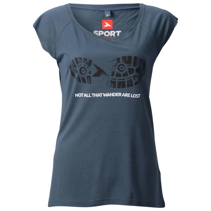 SportPursuit Womens Not All That Wander Bamboo T-Shirt