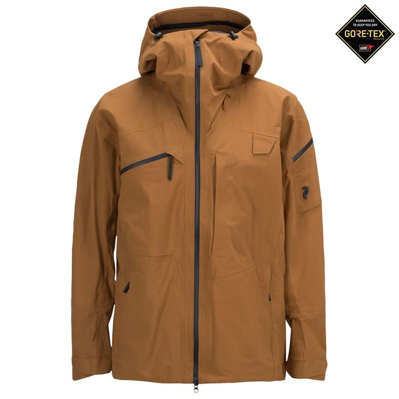 038a5ca3b91 Elskede Peak Performance Mens Alpine Ski Jacket (Honey Brown) |  Sportpursuit.c VO65