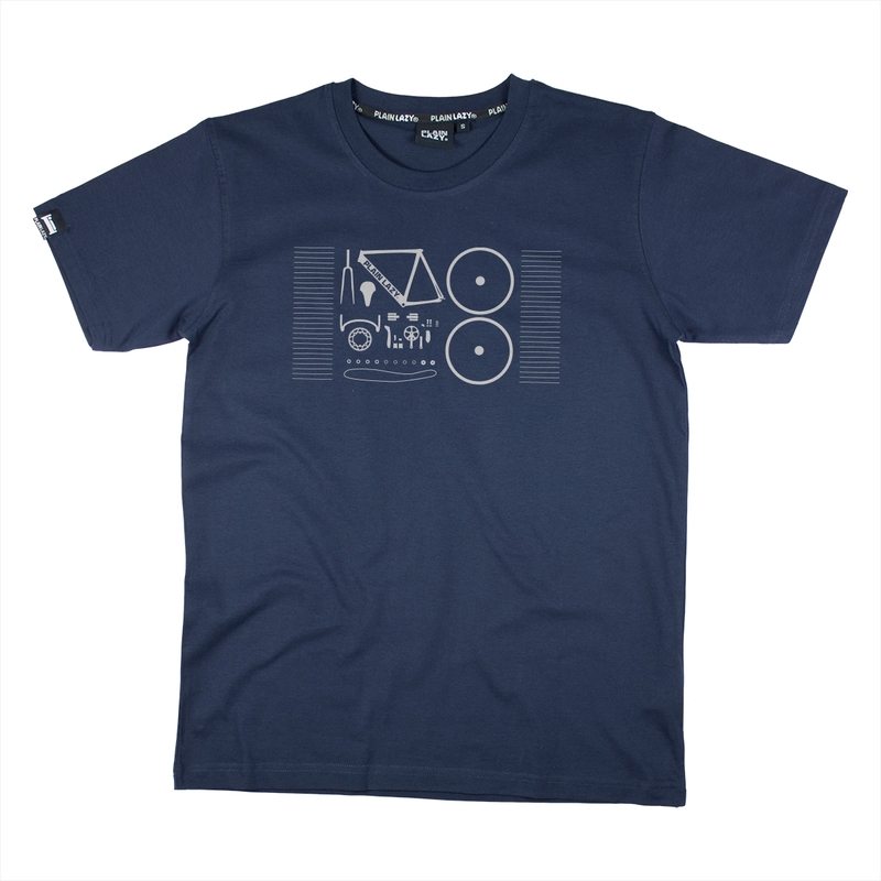 Plain Lazy Mens Bike Fix T-Shirt