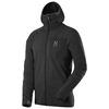 Mens Actives Warm II Hooded Jacket (True Black)