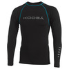 Mens Long-Sleeve Power Shirt (Black/Blue)