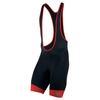 Mens Elite InRCool Bib Shorts (Black/True Red)