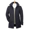 Mens Adge 2-Layer Winter Short Coat (Night Blue)