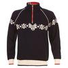 Mens Sochi Knitted Sweater (Navy/Off-White/Raspberry)