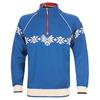 Mens Sochi Knitted Sweater (Cobalt/Off-White/Navy)