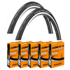GP 4000 S Tyre Set & Pack of 5 Tubes