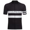 Mens Etape Short Sleeve Jersey (Black\/White)