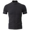 Mens Slipstream Short Sleeve Zip-Up (Black)