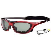 Lake Garda Sunglasses (Red Trasparent)