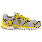 Mens Kwicky Blade-Light Shoes (Silver/Blazing Yellow/Black)
