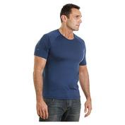 Mens Cougar Short Sleeve Top (Blue)